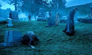 A scene from The Dead Don't Die.