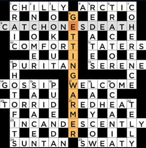 Independent crossword 9,516 by Morph