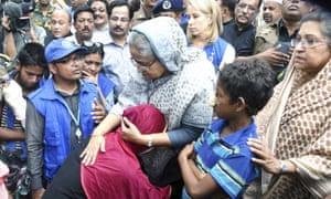 Bangladesh's prime minister, Sheikh Hasina