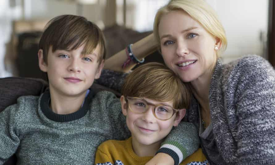 How did this film survive the development stage? Jaeden Lieberher, left, Jacob Tremblay and Naomi Watts in The Book of Henry.