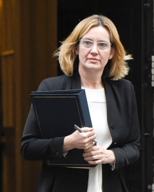 Amber Rudd is at the centre of legal dispute over the UK's asylum policy.