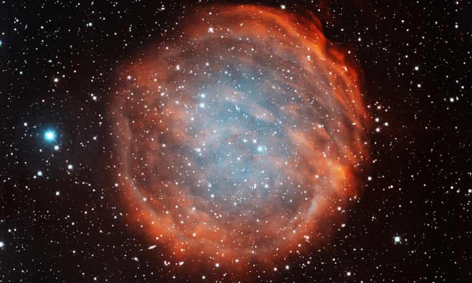 Planetary nebula PuWe 1