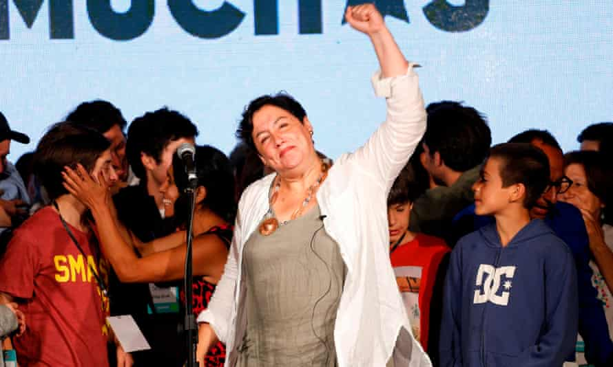 Beatriz Sánchez, a 46 year-old journalist, came third with 20% of the popular vote. Frente Amplio will now also control 12% of the 155-seat chamber of deputies.