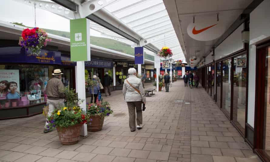 The Festival Park shopping centre in Ebbw Vale