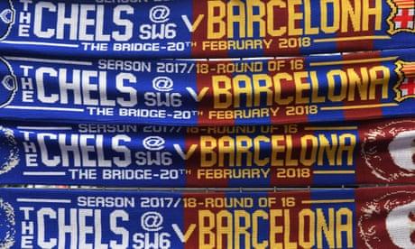 Chelsea v Barcelona: Champions League – live!