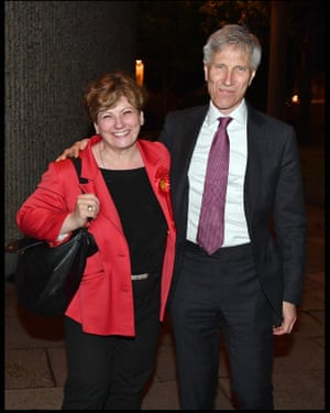 Thornberry with her husband, Christopher Nugee.