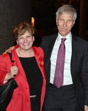 Emily Thornberry with her husband, the high court judge Sir Christopher Nugee