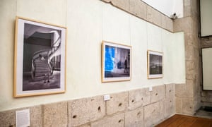 Prints on display at the Centro Português de Fotografia, Porto