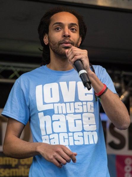 Zak Cochrane of Love Music Hate Racism