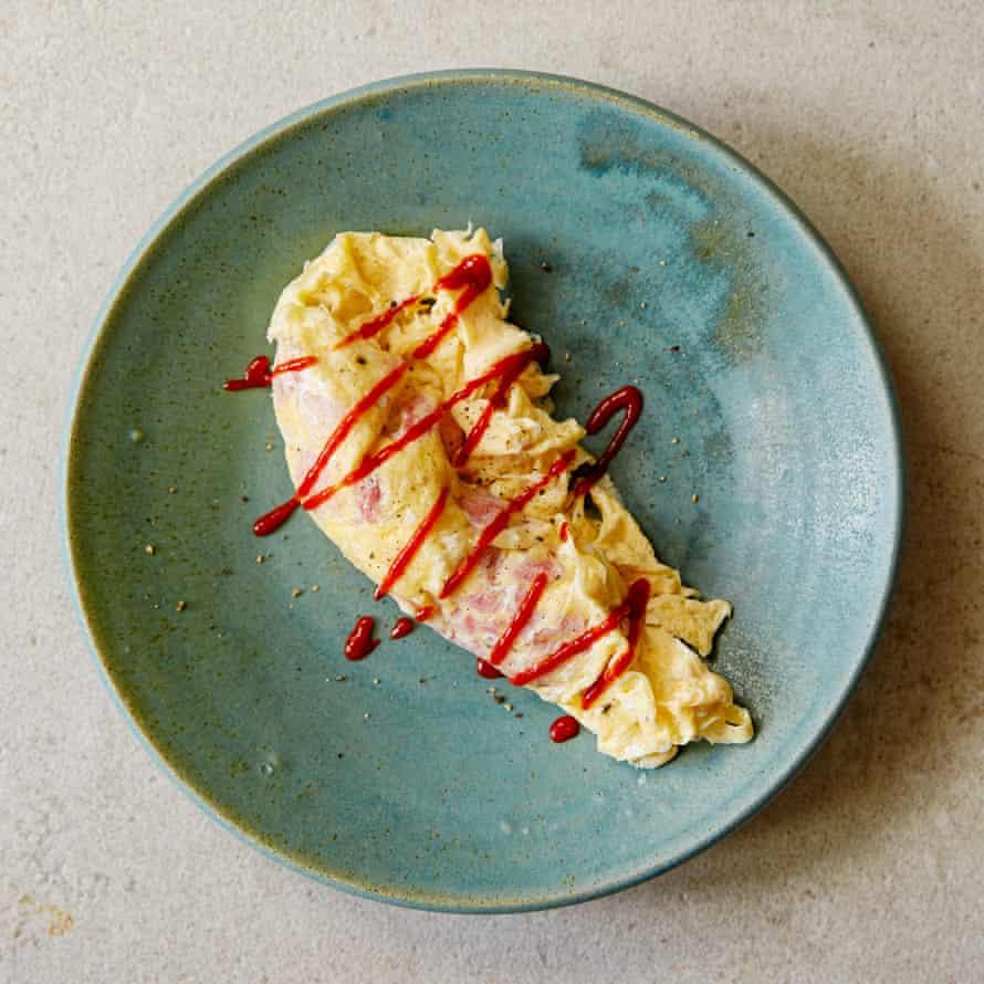 Marcus Rashford and Tom Kerridge's kettle omelette.