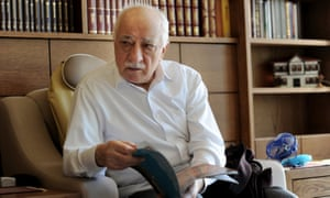 Fethullah Gulen at his residence in Saylorsburg, Pennsylvania.
