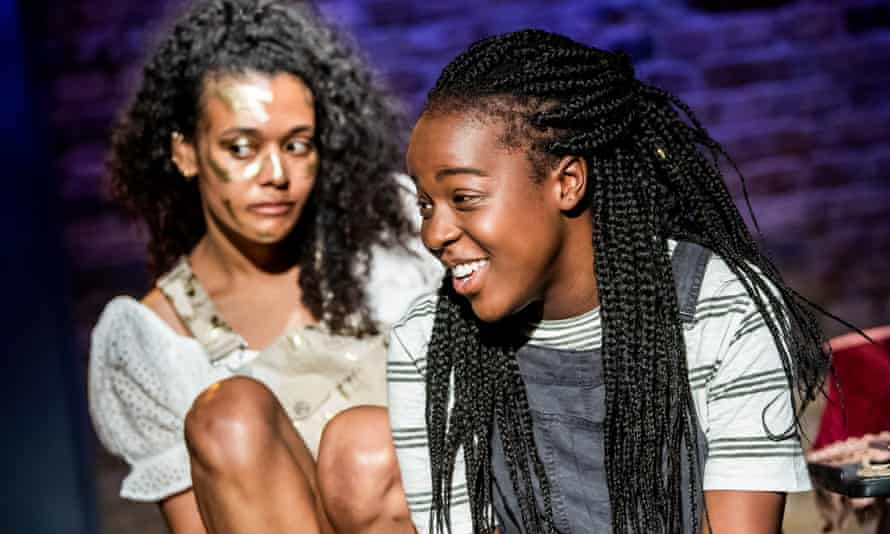 """Gabrielle Brooks, right, with Natasha Cottriall in the play Anna Bella Eema in 2019: 'I've stood on the stage, and I thought to myself: """"Wow, there is no one looking back at me that reflects me"""".'"""