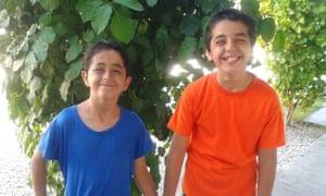 Salam, left, and Salar Fakher.