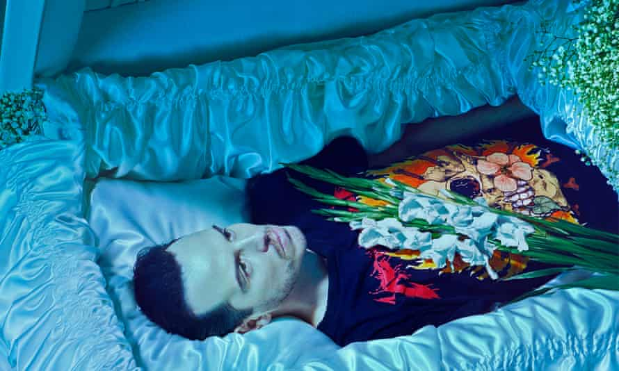 Undiscover'd country … Andrew Scott takes on Hamlet.