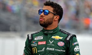 Bubba Wallace is a veteran of the Nascar circuit