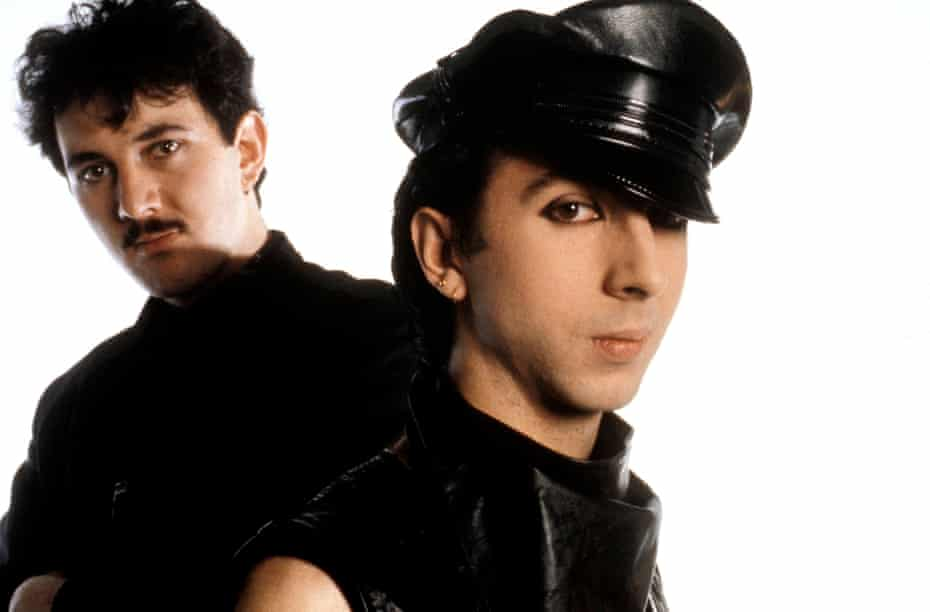 Soft Cell, whose single What!, argues Bracewell, was 'a defining 80s moment'