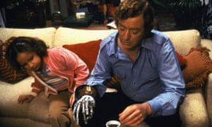 Michael Caine in The Hand.