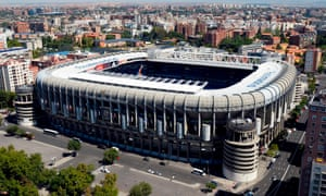 Real Madrid's Santiago Bernabéu Stadium will host the second leg of the Copa Libertadores final between River Plate and Boca Juniors.