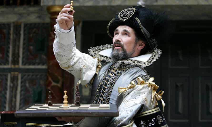 Mark Rylance as Prospero in The Tempest at Shakespeare's Globe.