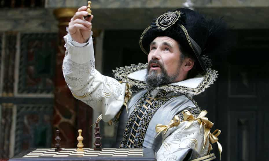 Mark Rylance as Prospero in The Tempest