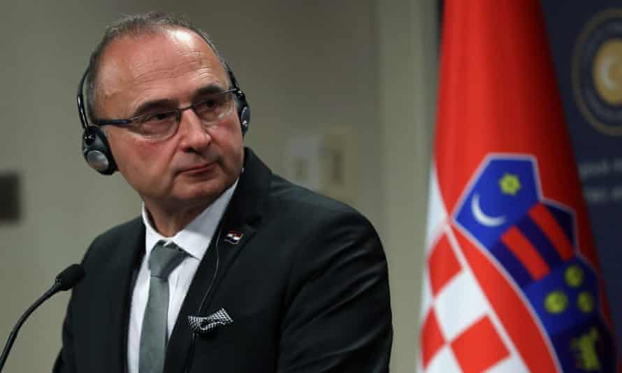 Gordan Grlić Radman, foreign minister of Croatia
