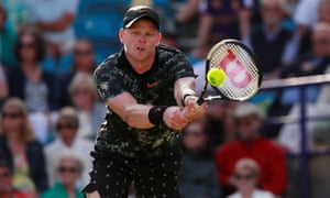 Kyle Edmund said he was happy with his performance at Eastbourne, where he lost to the eventual winner, Taylor Fritz.