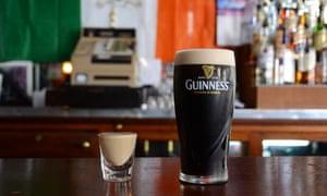 Guinness and Baileys