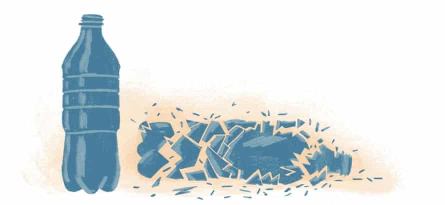 plastic bottle illustration