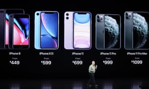 Iphone 11 And Apple Watch 5 Launch As It Happened Technology The Guardian