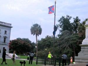 Bree Newsome flag