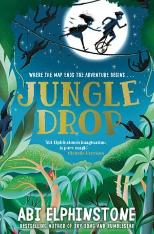 JUNGLE DROP book cover.