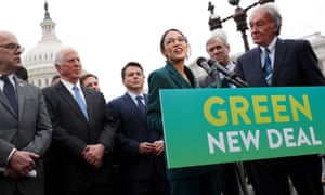 'Most Democratic voters recognize, intuitively, that climate change is an existential threat and support a Green New Deal. Indeed, so does half of the American electorate.'