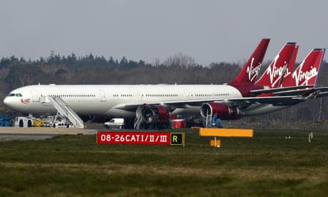 Virgin Atlantic to axe a third of jobs and shut Gatwick operations