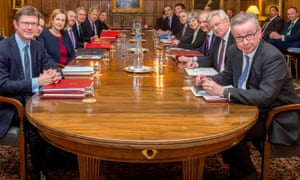The Brexit war cabinet meets at Chequers