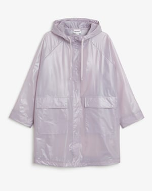 Hooded raincoat, was £65 now £25, Monki
