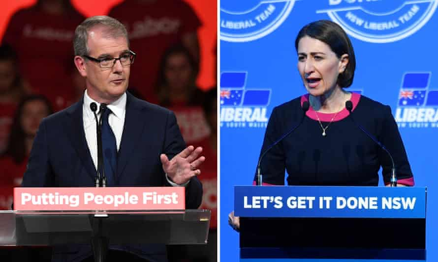 Labor leader Michael Daley and NSW Premier Gladys Berejiklian have one week to make final pitches for votes before the NSW state election.