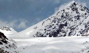 Indus mountain range