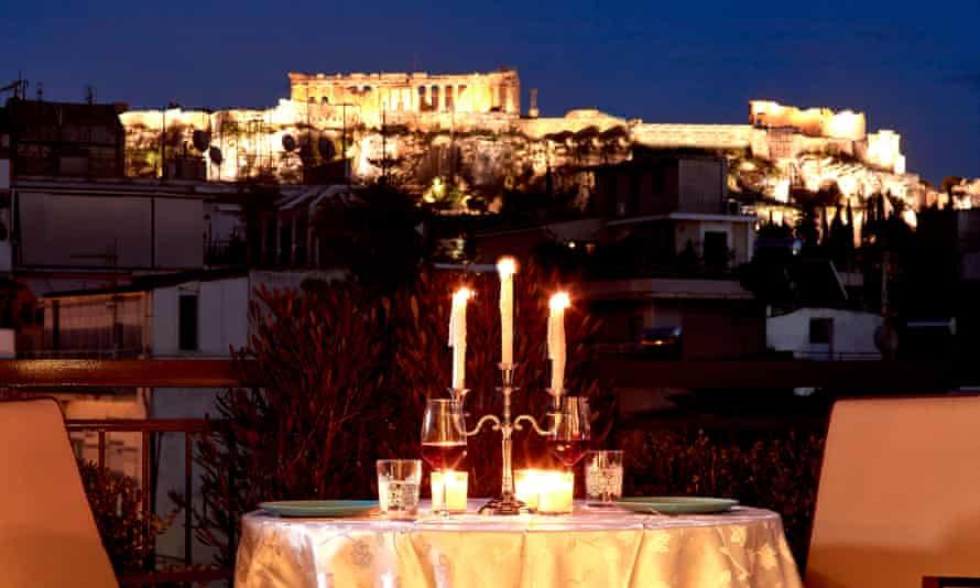 The good life in Athens? Greece hopes to boost growth by lowering the corporate tax rate.