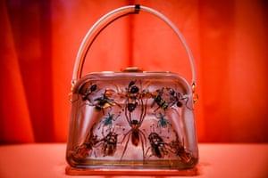 A Prada Entomology bag by Damien Hirst