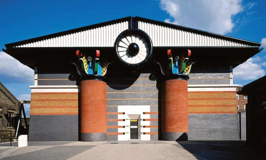 Isle of Dogs pumping station, designed by John Outram Associates in the mid-80s, was Grade II* listed this year.