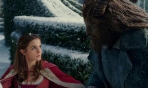 Fierce following … Emma Watson in Beauty and the Beast