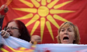 """""""Macedonian protesters"""""""