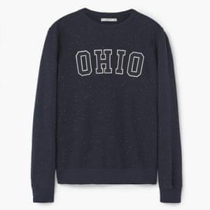 Sweatshirt, £35.99 mango.com