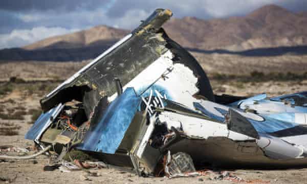 Virgin's previous spacecraft crashed in November 2014.