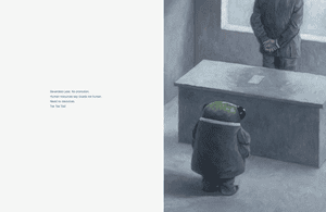 Page from Cicada by Shaun Tan