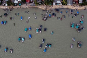 The huge expansion, coupled with reports of illegal miners targeting offshore deposits, has heightened tension with fishermen, who say their catches have collapsed due to steady encroachment on their fishing grounds since 2014