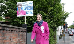 Dr Louise Irvine of the National Health Action party in Haslemere, part of Jeremy Hunt's South West Surrey constituency.