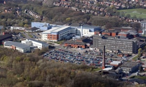 Tameside hospital, above, could have double the number of patients needing intensive care by 10 November than it has beds for.