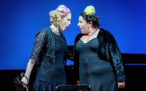 Kathryn Walker and Amy J Payne in Berlin to Broadway With Kurt Weill at Leeds City Varieties.