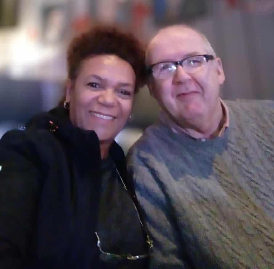 Patrick McManus with his partner Lena Vincent